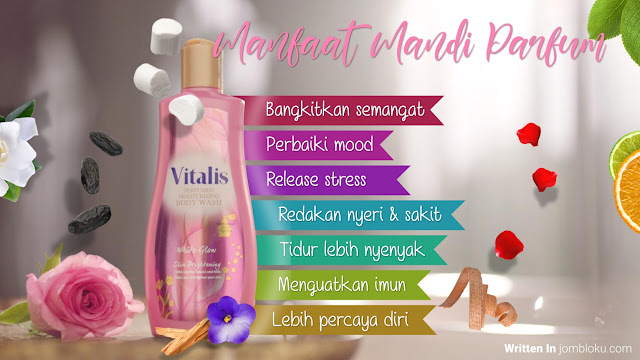 Manfaat Mandi Parfum Vitalis Body Wash