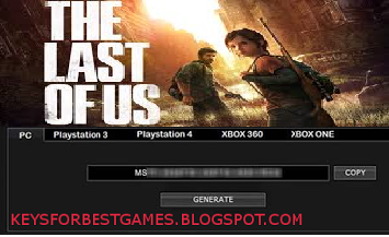 the last of us pc download cd key