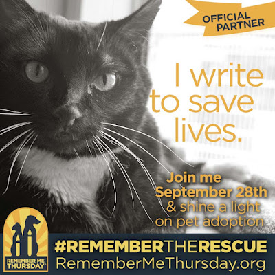 I write to save lives--Remember the Rescue--September 28, 2017