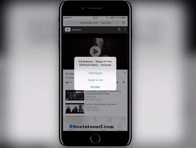 telecharger des musique de youtube sur son iphone