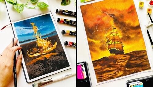 00-Watercolor-Paintings-Geethu-www-designstack-co