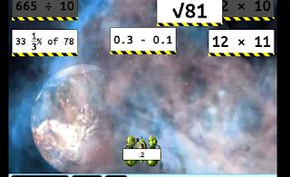 math invaders sample