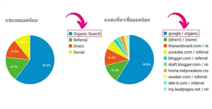 organic search engine คือ