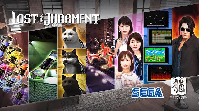 lost judgment pre-order bonus post-launch content roadmap pc steam detective action-adventure thriller game ryu ga gotoku studio sega