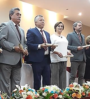 Automotores y Anexos SA recibe condecoración de la Cámara de Comercio de Cuenca