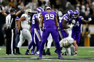 FÚTBOL AMERICANO (NFL Playoffs 2020) - Los Vikings sorprenden y derrotan en la prórroga a los Saints