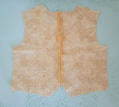 Cricut leather steampunk vest