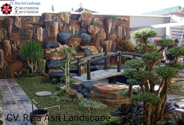 Gambar Dekorasi Kolam Tebing  JASA PEMBUATAN DEKORASI TEBING   dekorasi tebing air terjun / relif tebing SURABAYA, GRESIK, SIDOARJO