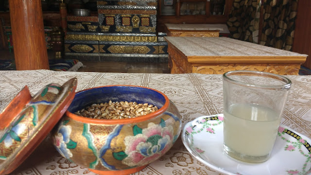 Roaster wheat with Local wheat drink