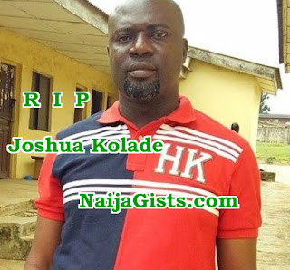 man dies shock losing father sister disease