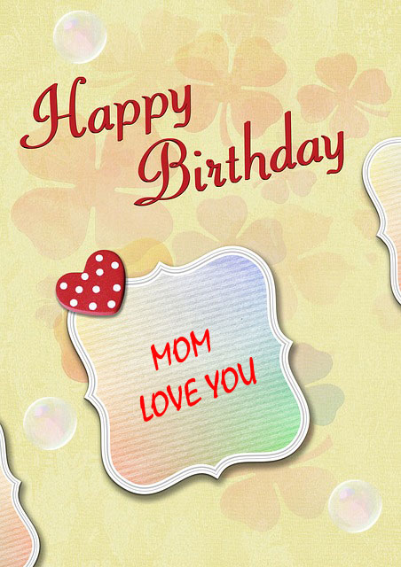images of happy birthday mom