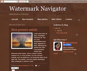 Watermark Navigator Theme