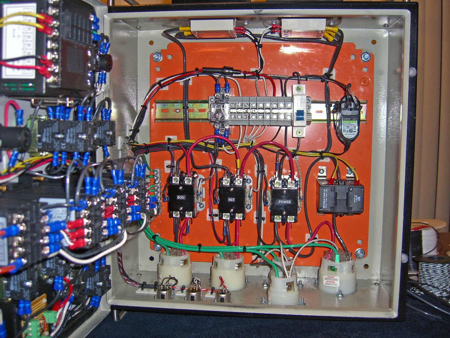 yacht wiring diagram rotten s electric brewery control panel    wiring    done  rotten s electric brewery control panel    wiring    done