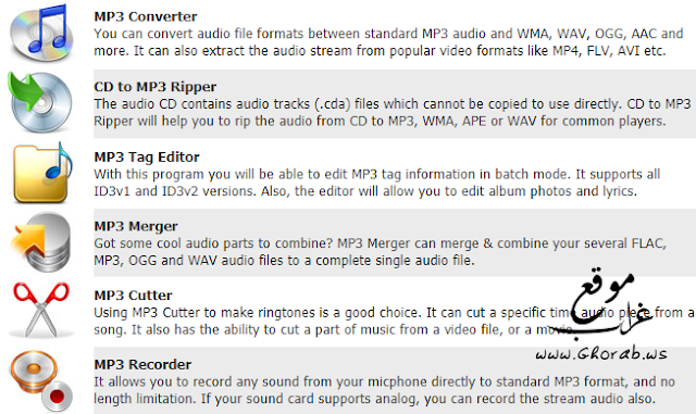 MP3 Toolkit Features