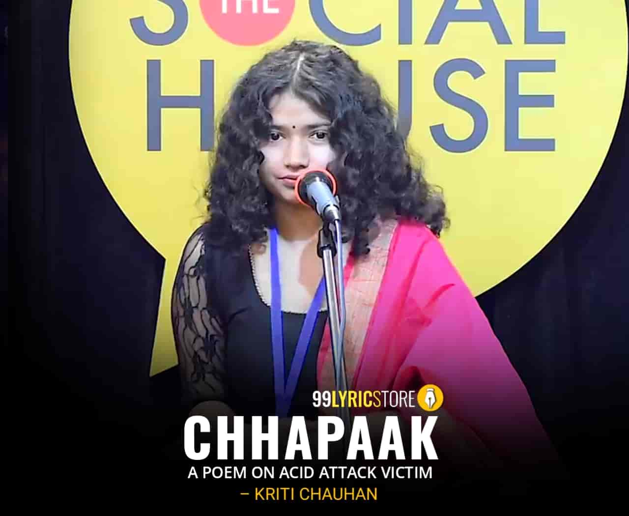 Chhapaak - A Poem on Acid Attack Victim Image, written by Kriti Chauhan