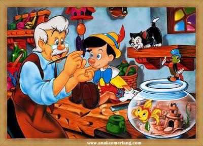 Cerita Dongeng Pinokio Si Boneka Kayu