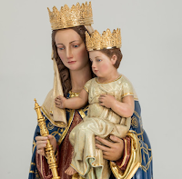 New Statue of Our Lady for Oslo by Granda