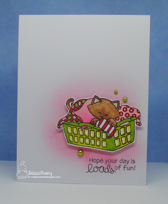 Hope your day is loads of fun by Debbie features Newton Cleans Up by Newton's Nook Designs; #newtonsnook
