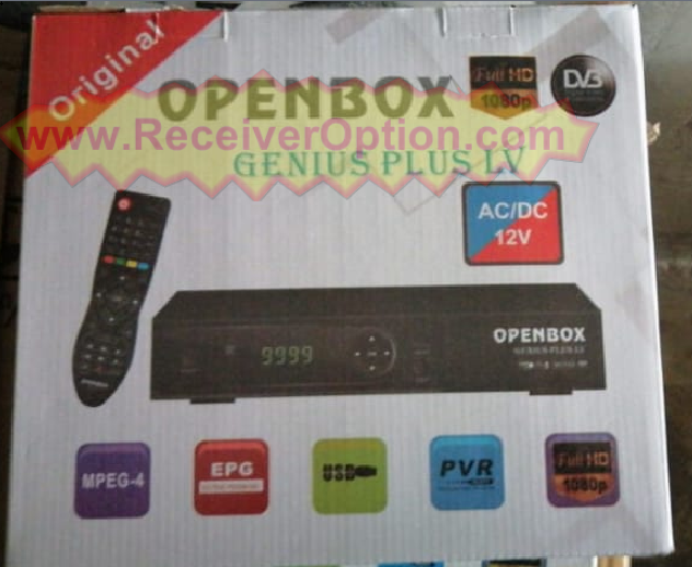 OPENBOX GENIUS PLUS 1506LV 1G 8M NEW SOFTWARE WITH YOUTUBE OK 29 6 2020