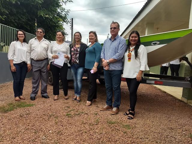 Governo de Rondônia entrega lancha para atender escolas na área ribeirinha
