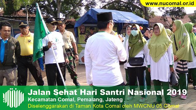 Hari Santi Nasional MWCNU 05 Comal Pemalang