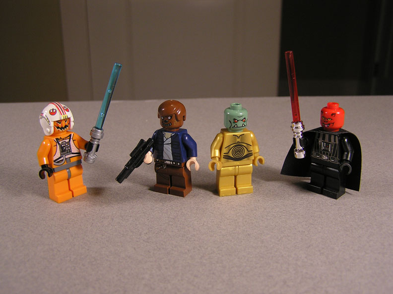 Think, that lego star wars monsters can