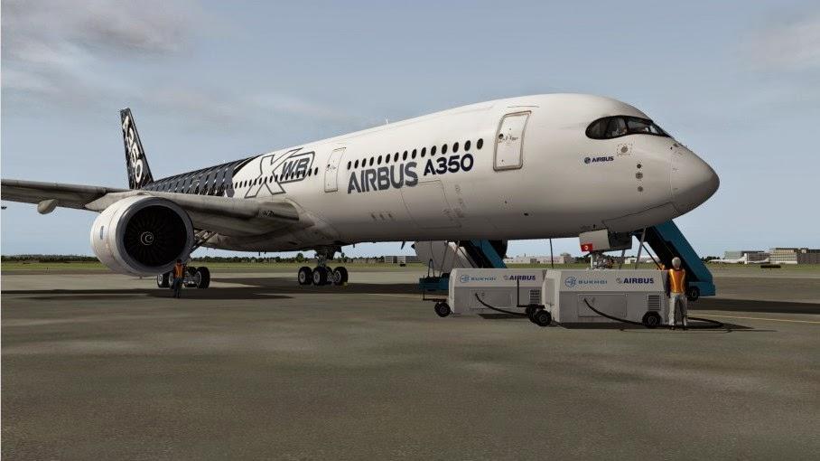South West Flight Simulation: Flight Factor Aero Airbus A350 coming