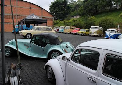 Variant, Brasília e Kombi: a família VW é grande.