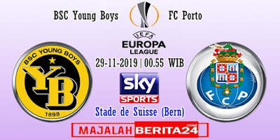 Prediksi Young Boys vs FC Porto — 29 November 2019