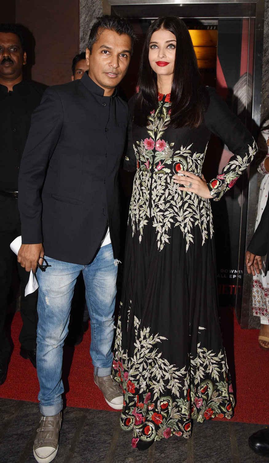 Aishwarya Rai Attends The Music Launch of Hrudayantar at PVR Premiere
