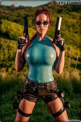 Cosplay Warrior Woman