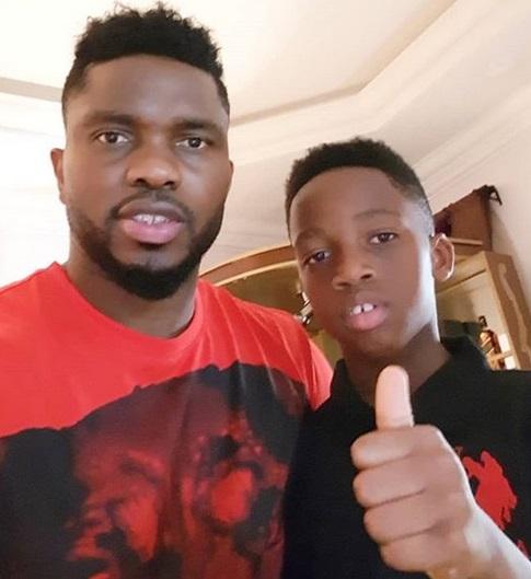 Photos: Joseph Yobo Celebrates Son As He Turns A Year Older