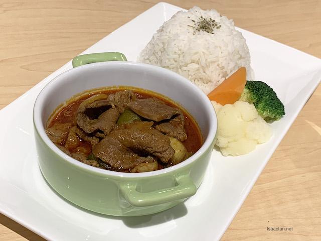 Satay Beef Rice - RM18.80