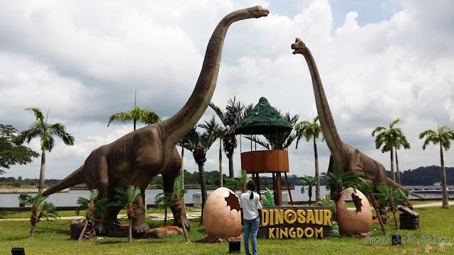 12 Tarikan Utama Dinosaur Kingdom di Puteri Harbour, Johor Bahru