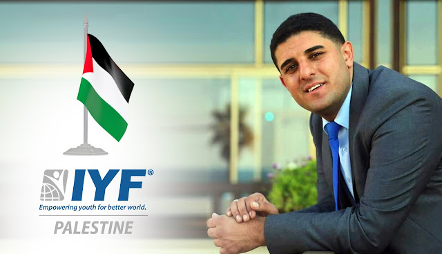 Ibrahim Jarour, IYF Representative in Palestine