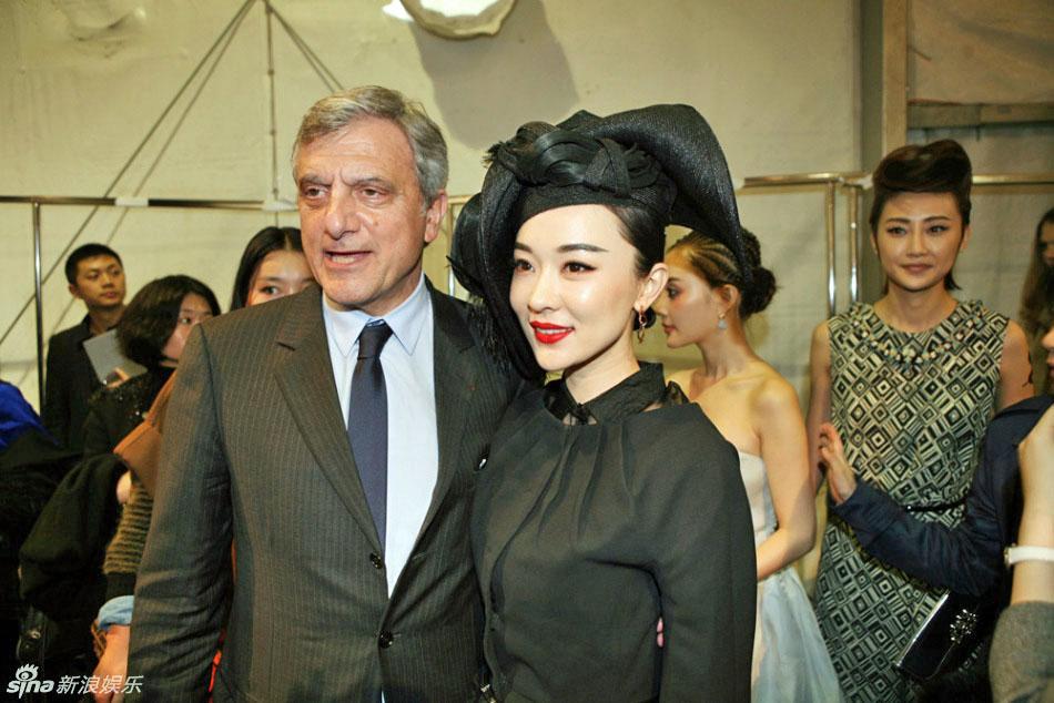 Favorite Hong Kong actresses: Huo Siyan wears a hat, Paris