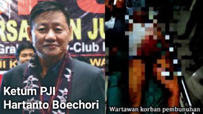 Sikap Ketua Umum PJI atas Pembunuhan Wartawan Mara Salem Harahap