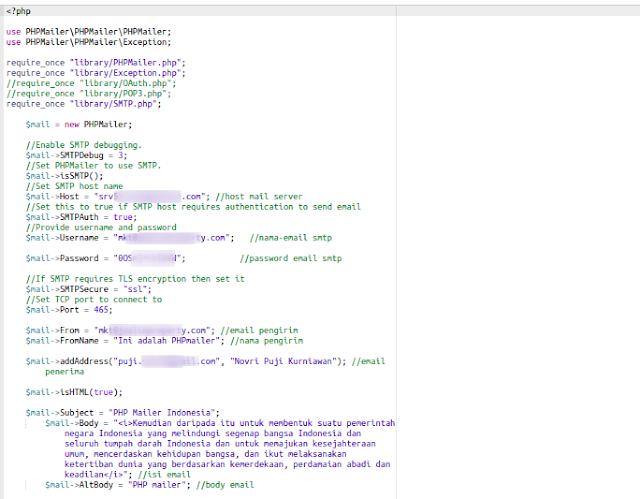 Cara Kirim Email Menggunakan PHPMailer (Mail Hosting)