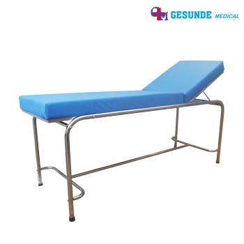Meja Periksa Pasien Stainless Steel (Examination Table + Trap SS)