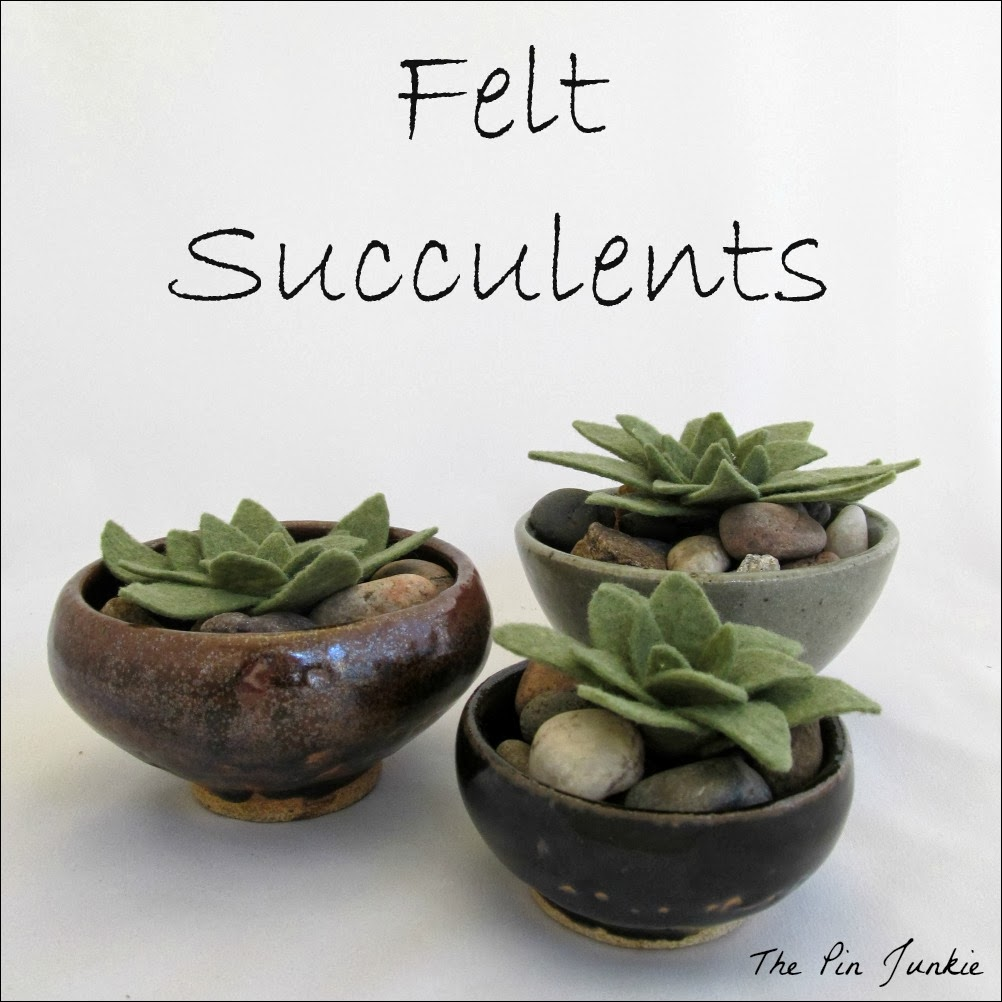 felt-succulents DIY