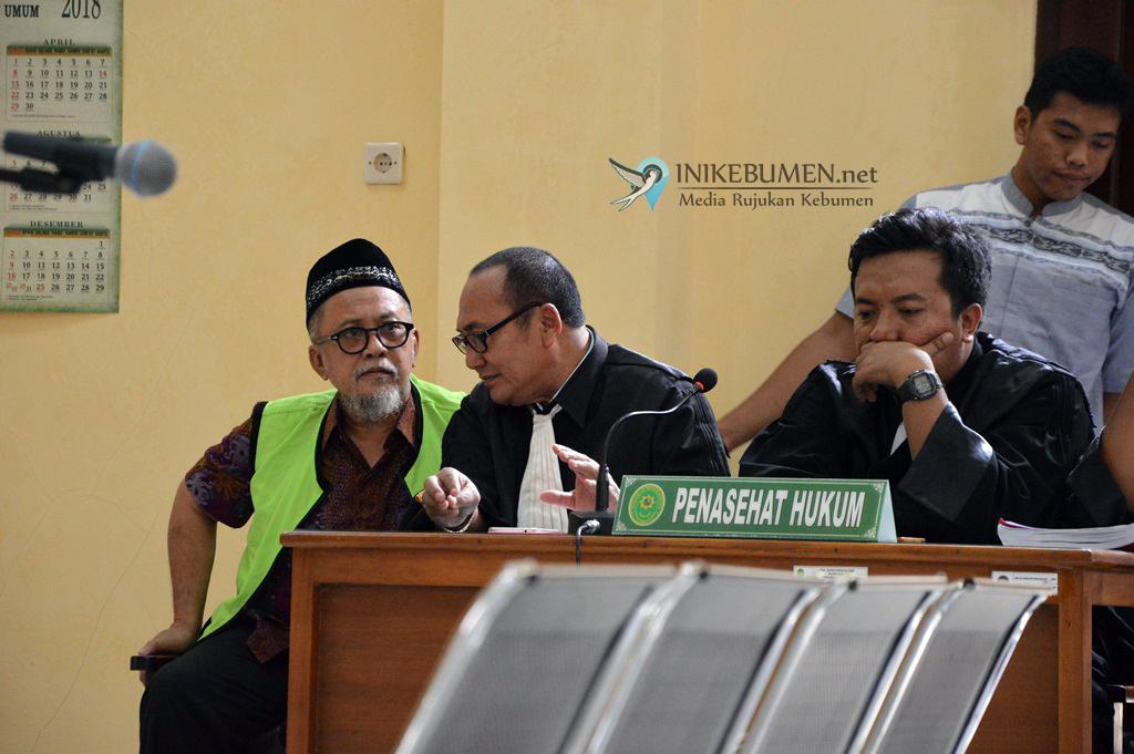Ketua Koni Kebumen Dituntut 1 Tahun 8 Bulan Penjara