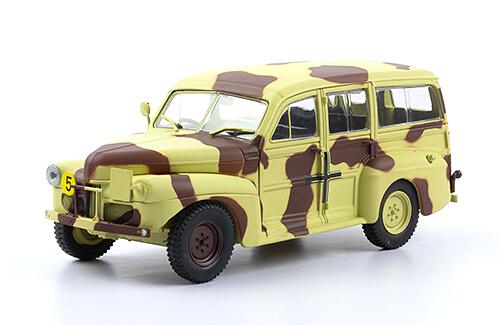 FORD V8 C11 ADF 1:43, voitures militaires de la seconde guerre mondiale