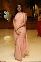 Eesha Rebba in beautiful peach saree at Darshakudu pre release ~  Exclusive Celebrities Galleries 080.JPG