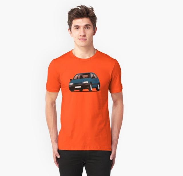 Daihatsu Charade t-shirts