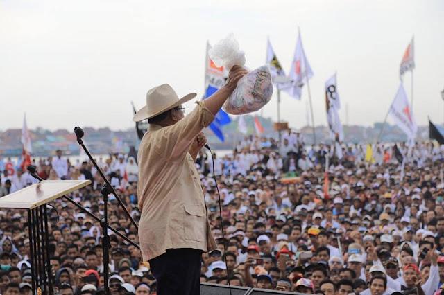 Prabowo:  Sumsel Harus Bisa Sumbang 80 Persen Suara