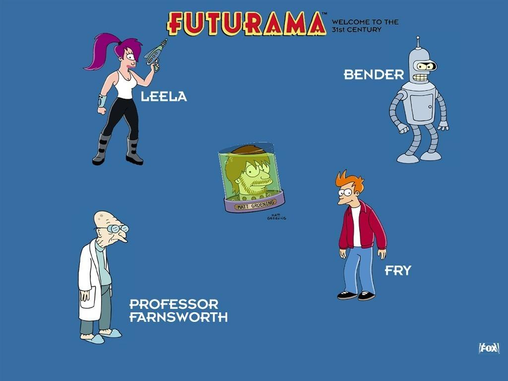 Esther castillo futurama background - Futurama wallpaper ...