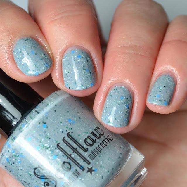 grey crelly nail polish