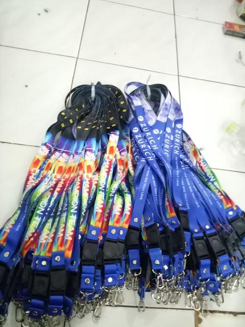 Pusat percetakan tali lanyard murah dan berkualitas di Jakarta