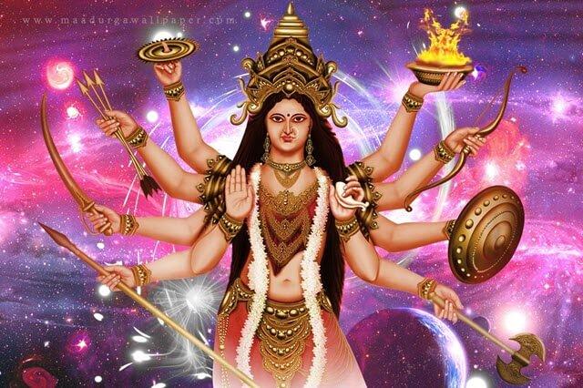 Maa Durga Beautiful Images Photos Hd Wallpapers Free