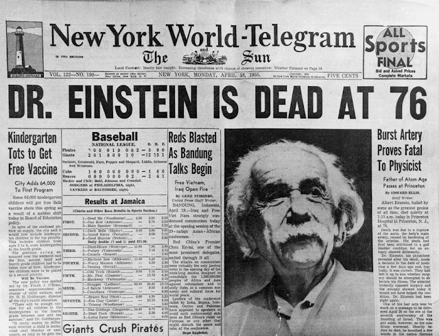 Tahukah Anda Otak Albert Einstein Pernah Dicuri Selepas Kematiannya?